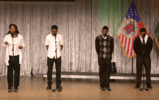 Poetry Slam at Wayne State University Students