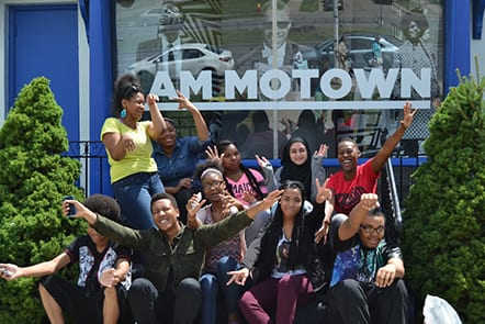 Students at Motown Museum