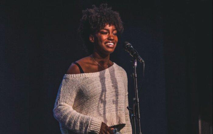 Poet at Grand Slam 2018