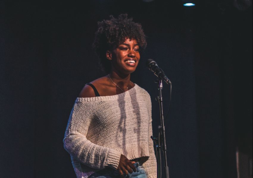 Poet at Grand Slam 2018